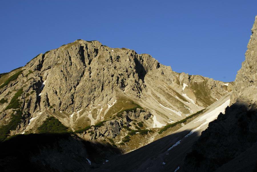Klettersteig Wankspitze : Klettersteig auf die wankspitze m am